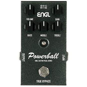 Engl EP645 Pedal Powerball Pedal de Efectos para Guitarra Eléctrica