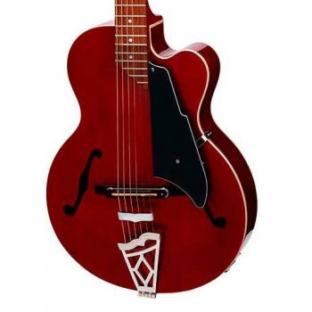 Vox VGA-3PS-TR Guitarra Electroacústica con Funda de Transporte