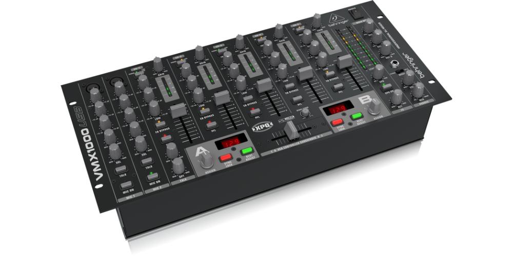 VMX1000USB behringer mezclador front