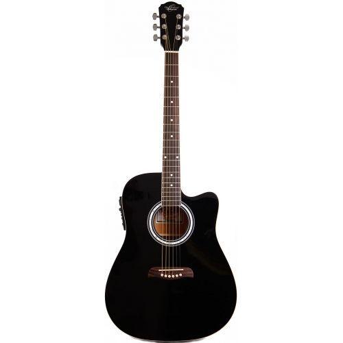 OSCAR SCHMIDT OD45 CEB PACK  Guitarra  Acustica Electri , Funda, Puas