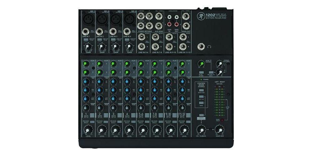 mackie 1202VLZ4 mesa mezclas directo 12canales profesional directo