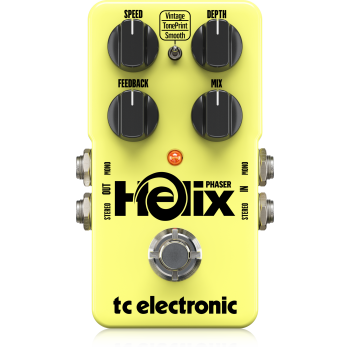 TC Electronic Helix Phaser, Pedal Efectos
