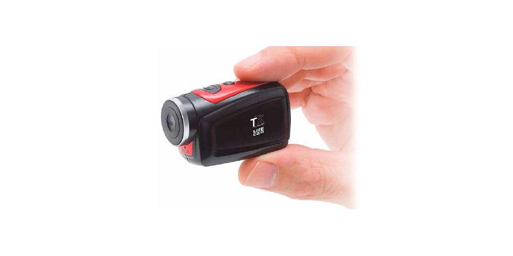 videocamara ttk life cam con tarjeta micro sd