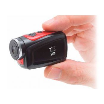 TTK Life Cam Mini Cámara Deportiva Sumergible + Micro SD 8Gb + Accesorios