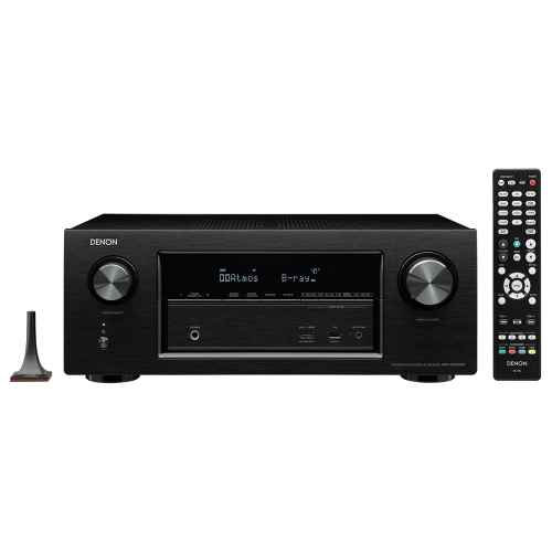 DENON AVR-X2300 Receptor Home Cinema Bose AM10V White