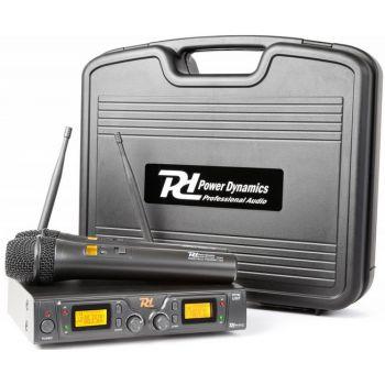 Power Dynamics PD782 Microfono Inalambrico UHF 179196