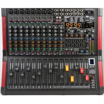 Power Dynamics PDM-S804A Mezclador amplificado de escenario 8 canales 172630