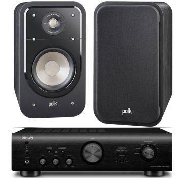 DENON PMA-720 BK+POLK AUDIO S20B