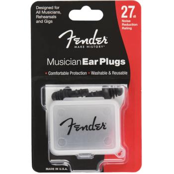 Fender Musician Series Protector de oidos Negro