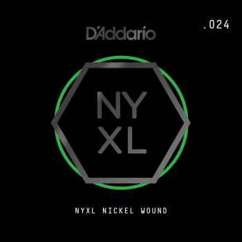 D´addario NYNW024 Cuerda Suelta para Guitarra Eléctrica