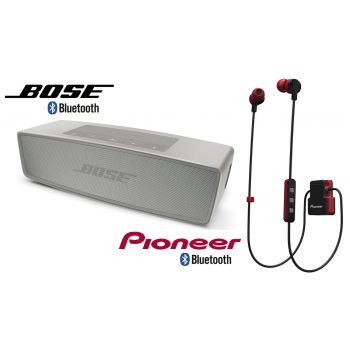 Bose Soundlink MINI II P Altavoz + Auricular Bluetooth Pioneer SE-CL5BTR