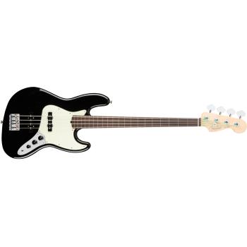 Fender American Pro Jazz Bass Fretless Rosewood Fingerboard Black