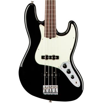 Fender American Pro Jazz Bass RW FL Black