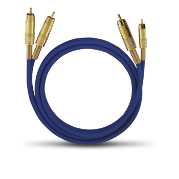 Oehlbach NF1 Master Set 1x2,0m Blue Cable RCA-RCA
