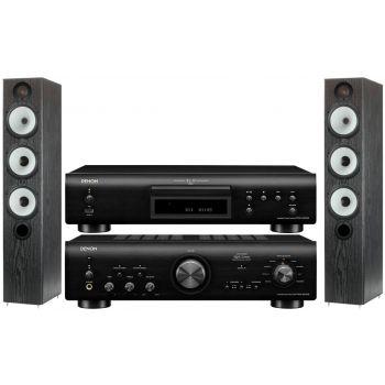 Denon PMA-800AE Black+DCD800 Black+MR6 Black Conjunto sonido