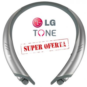 LG HBS-A-100 TONE+ Auriculares /Altavoces Bluetooth SPORT IPX4 Silver HBS-A100