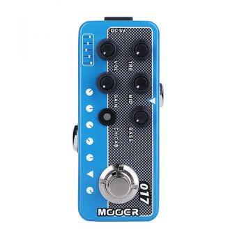 Mooer Cali MKIV Micro Preamp 017. Preamplificador Pedal Efectos