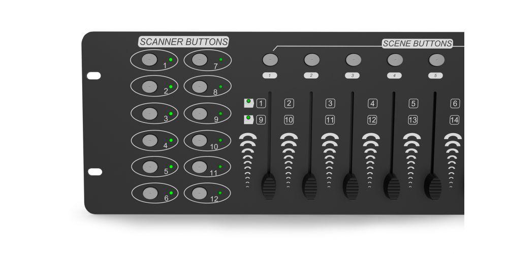 audibax control8 faders