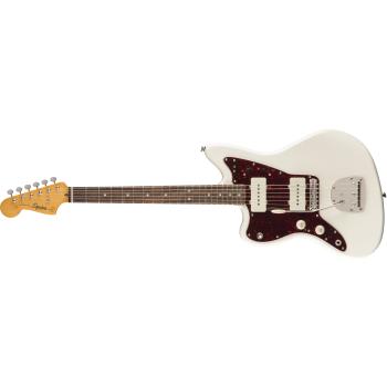 Fender Classic Vibe 60s Jazzmaster Left-Handed Laurel Fingerboard Olympic White