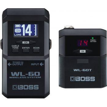Boss WL-60 Sistema inalámbrico Plug and Play