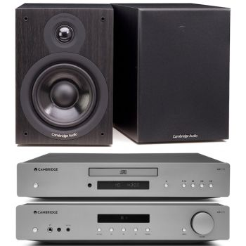 CAMBRIDGE AXA35 +AXC35+SX50-BK, Conjunto Audio