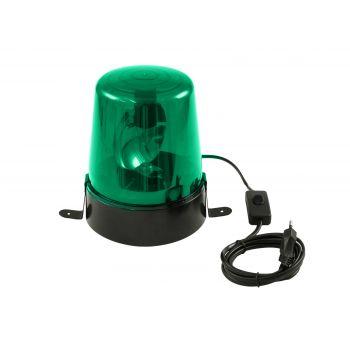 Eurolite LED Police Light DE-1 Green Sirena