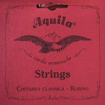 Aquila 134C Rubino Cuerdas Guitarra Clásica Tensión Normal