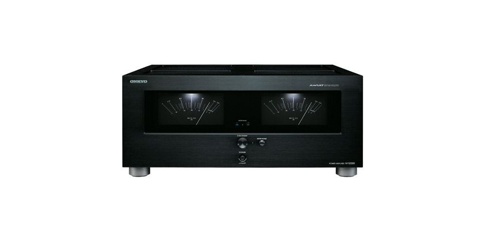 ONKYO M-5000R B Etapa Amplificador Estereo 2 x 170 W, Negro