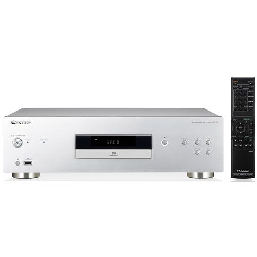 Pioneer PD-10 S Compact Disc Silver