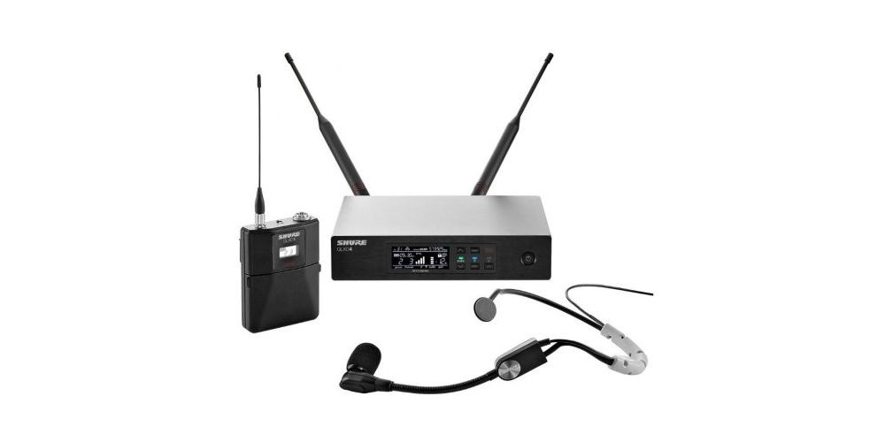 SHURE QLXD14 SM35 Microfono inalambrico de Diadema