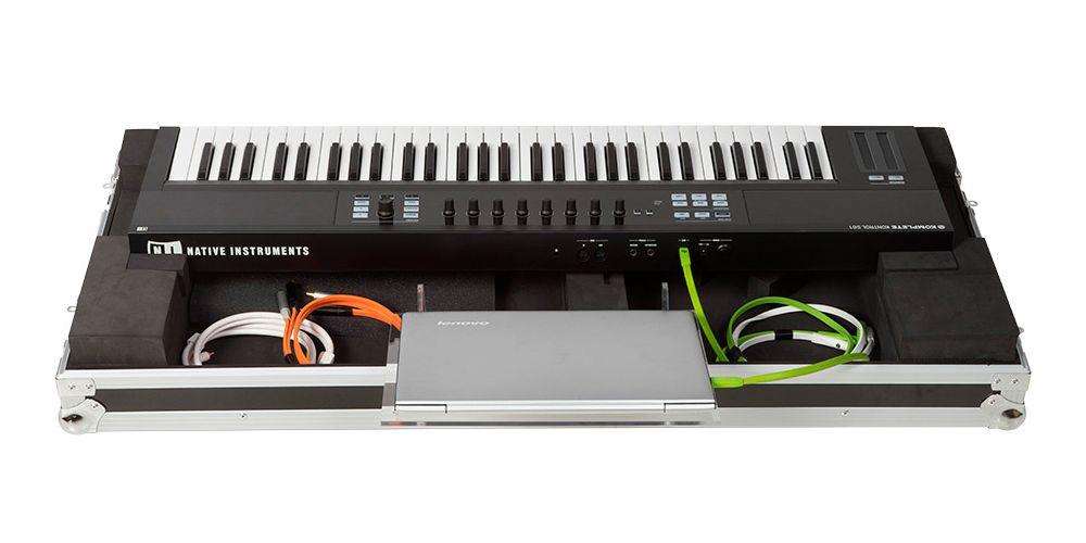 Walkasse WMK S61 Flight case Keyboard-controller 61 keys LTS