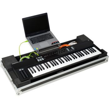 Walkasse WMK S61 Flight case Keyboard-controller 61 keys LTS