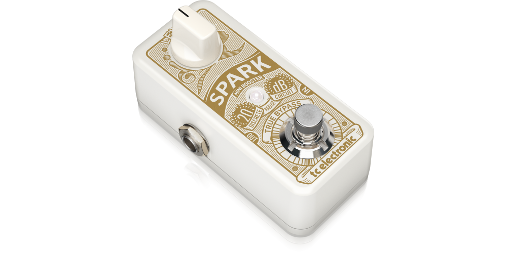 Spark Mini Booster tc electronic pedal efectos