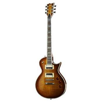 ESP LTD EC1000 FM Guitarra Eléctrica Amber Sunburst