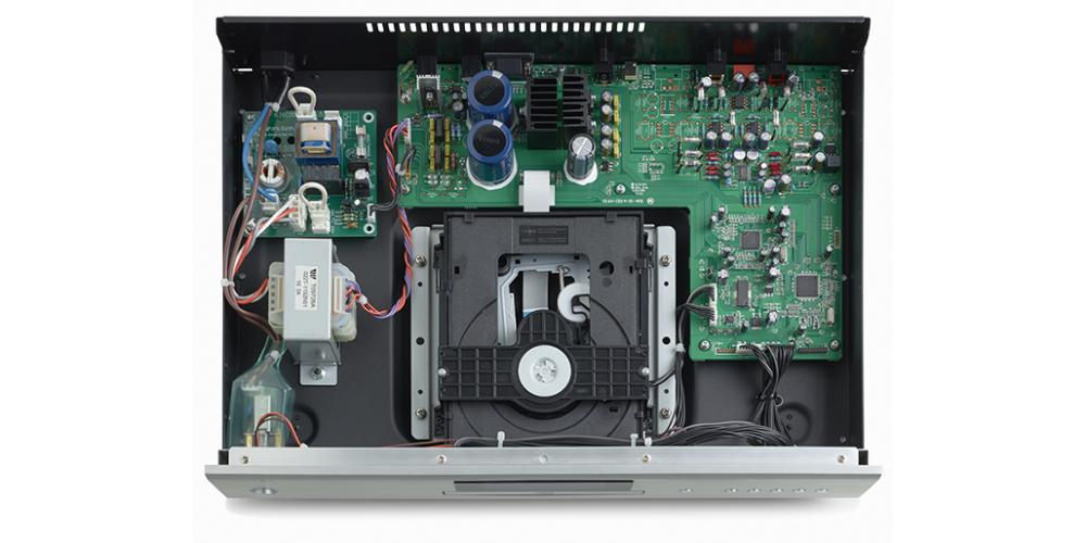 rotel CD14 componentes fabricacion
