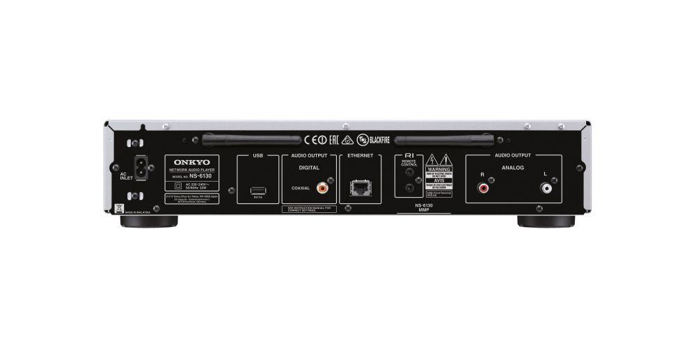 onkyo NS 6130 S silver receptor unidad red mando