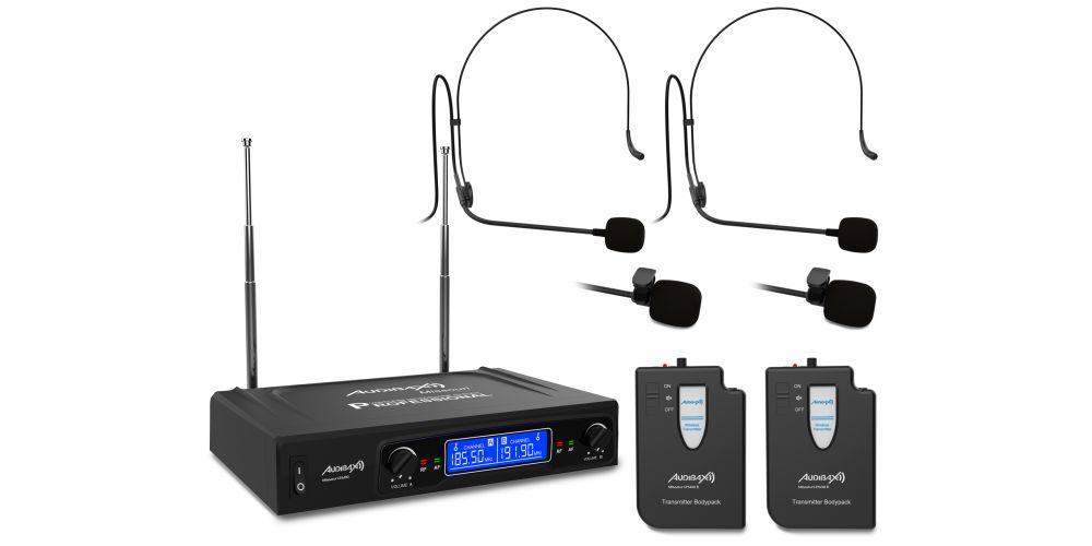 audibax missouri2500 b microfono inalambrico