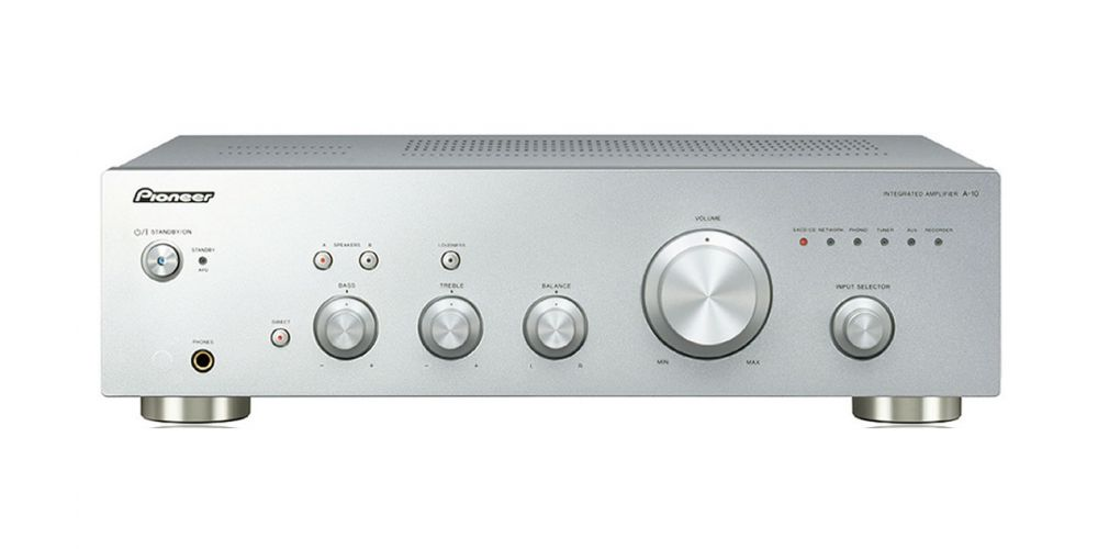 pioneer a10 silver front