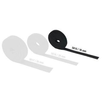Adam Hall Hardware 5815 Cinta Velcro doble Cara 16 mm de ancho