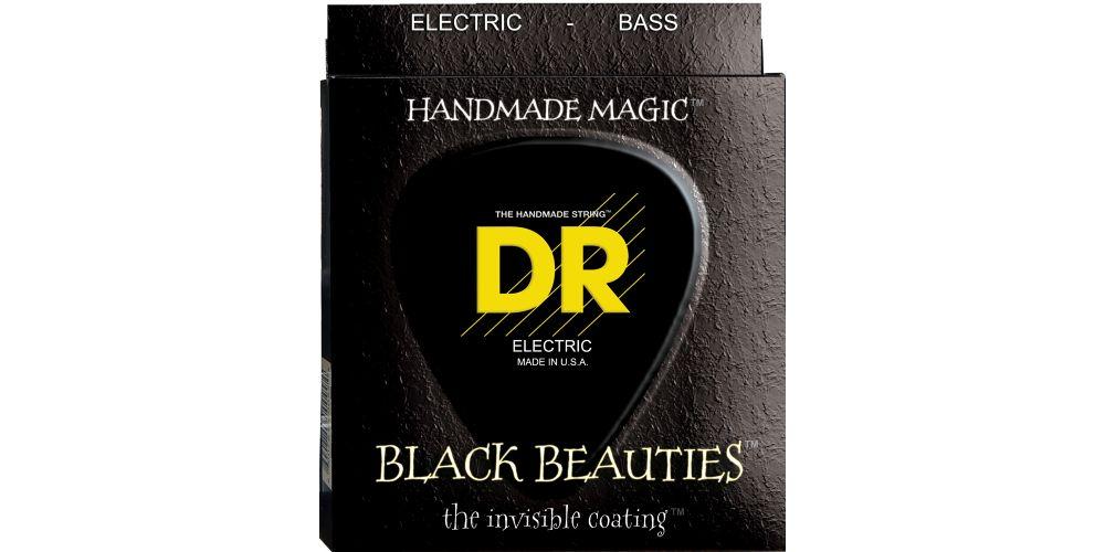 DR Strings BKB5 45 BLACK BEAUTIES