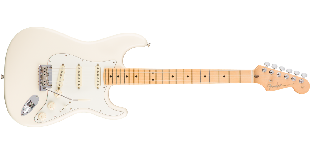 Fender American Pro Stratocaster®, Maple Fingerboard, Oly