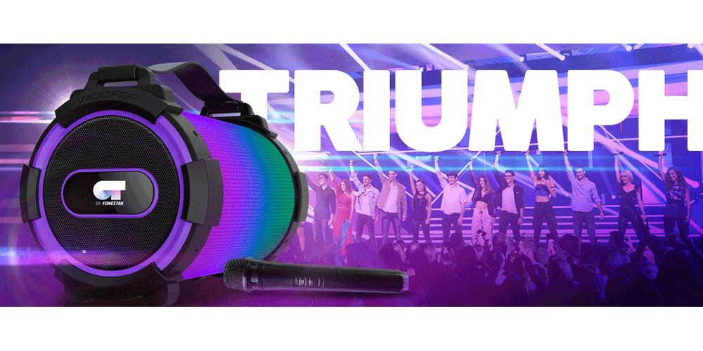 TRIUMPH ot karaoke micro