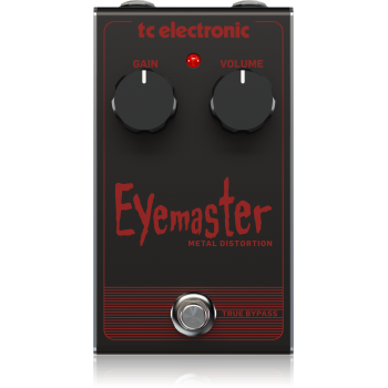 Tc electronic EYEMASTER METAL DISTORTION . Pedal de Efectos