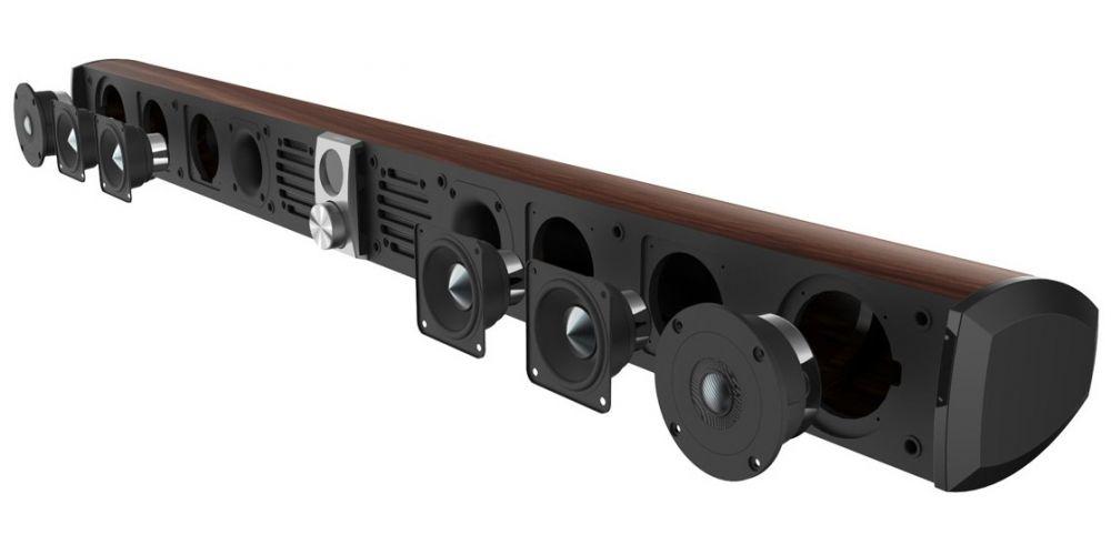 Edifier S70DB barra sonido subwoofer bluetooth mando distancia construccion