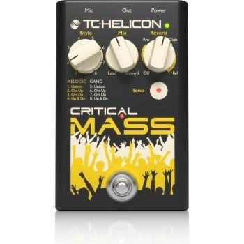 TC helicon Critical Mass Pedal de Efectos para Voz