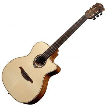 LAG TN270ACE Guitarra Clásica Electrificada Cuerpo Tipo Auditorium