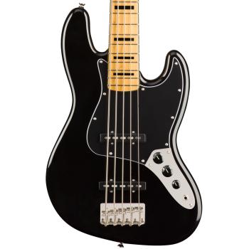 Fender Squier Classic Vibe 70s Jazz Bass V MN Black Bajo Eléctrico