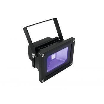 Eurolite Led IP FL-10 COB UV Foco IP54 Luz Negra