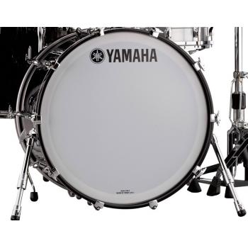 Yamaha Recording Custom Solid Black Bombo 24x14 RBB2414SOB