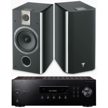 Pioneer SX-10AE BK+Focal Chorus 706 BK Conjunto de Audio